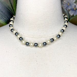 NEW Monet Faux Pearl Knot Single Strand Necklace